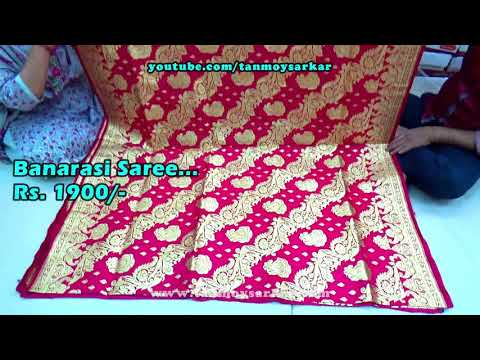 Video Beautiful Banarasi Sarees Of India   Wedding Collection For All With Wholesale Prices   C S Fashions download in MP3, 3GP, MP4, WEBM, AVI, FLV January 2017