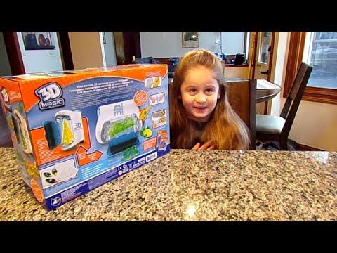 3D Magic 3D Maker-Chloe's Toy Time (видео)