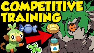 The ULTIMATE Competitive Pokemon Training Guide! How To Get Competitive Pokemon In Sword and Shield! by Verlisify