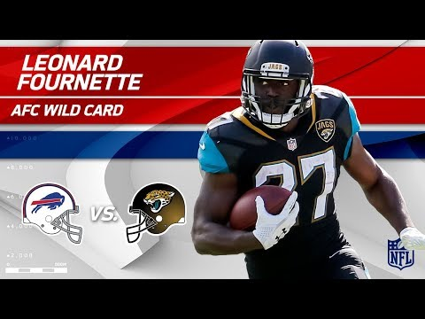 Video: Leonard Fournette NFL Playoffs Debut Highlights! | Bills vs. Jaguars | Wild Card Player HLs