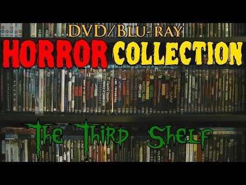 Horror Collection - DVD/Blu Ray Overview - Part 3: The Third Shelf