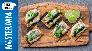 SARDINES & White Bean Purée | Bart van Olphen by Bart's Fish Tales