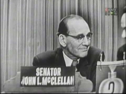 What's My Line? - Senator John McClellan; Louis Jourdan [panel] (Feb 13, 1955)