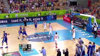 Postgame P. Koponen, H. Turkoglu TUR-FIN EuroBasket 2013
