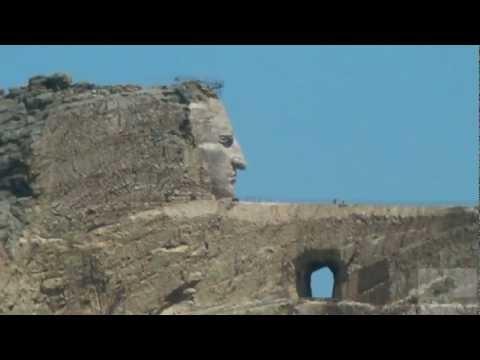 crazy horse memorial, el monumento a Caballo Loco (видео)