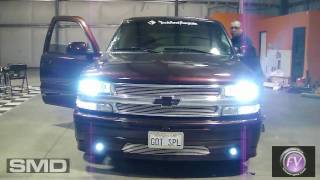 7000k HID Projector Fog/Driving Lights - SMD Chevy Tahoe
