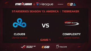 Cloud9 vs coL, game 1