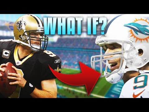 What If DREW BREES Signed with the DOLPHINS in the 2006 Offseason???