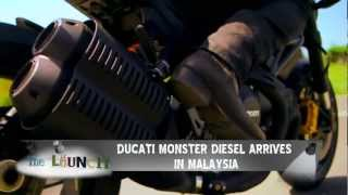 1. CapitalTV - THE LAUNCH Ducati Monster Diesel.mov