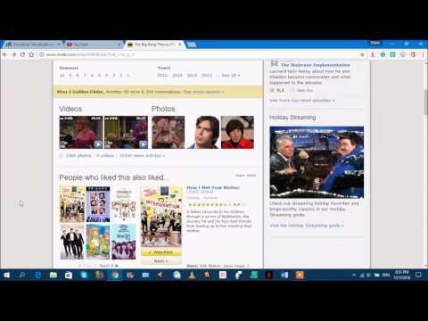 Checking Out: The Big Bang Theory's IMDB Page