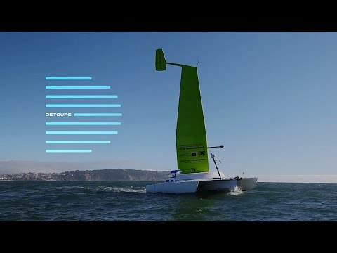 New sailboat technology uses a wing instead of a