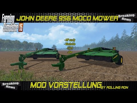 John Deere 956 MoCo Mower Fixed