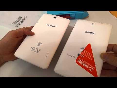 Chuwi Vi7 3G Unboxing - Atom X3 C3230RK, Mali 450 MP4 GPU