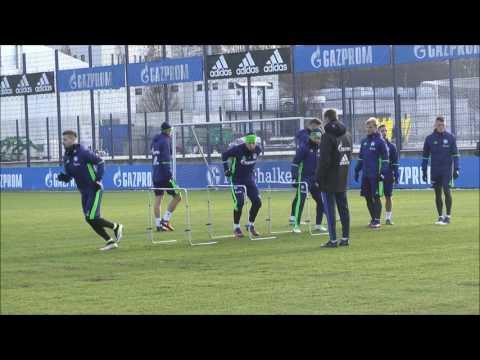 FC Schalke 04 Training 15.01.2017