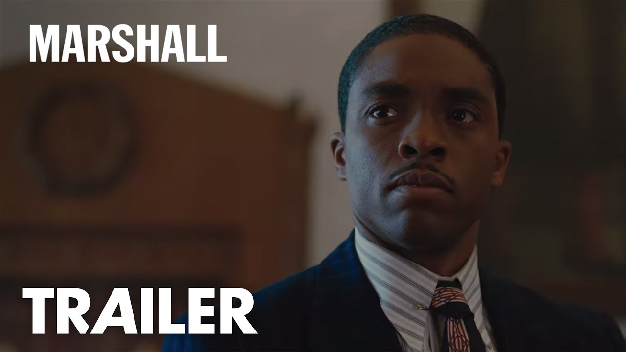(Trailer) Witness the Rise of the Man who Changed America. Chadwick Boseman is Legendary Supreme Court Justice Thurgood 'Marshall' with Josh Gad & Sterling K. Brown