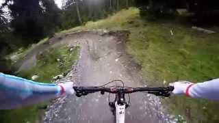 Flims Switzerland  city photos : MTB Runca Trail @ Flims, Switzerland