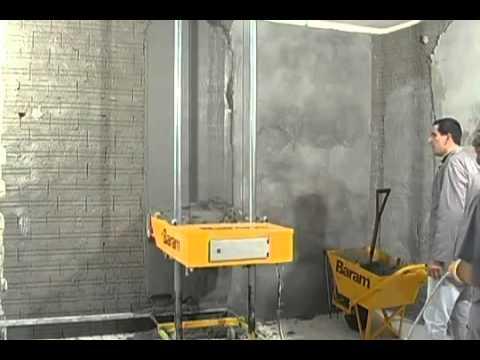 Máy trát vữa tường tự động