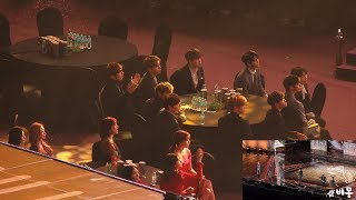 Video 190115 TWICE, WannaOne Reaction to iKON (아이콘 무대보는 트와이스, 워너원) 4K 직캠 by 비몽 MP3, 3GP, MP4, WEBM, AVI, FLV Januari 2019
