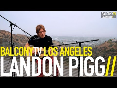 LANDON PIGG - FALLING IN LOVE AT A COFFEE SHOP (BalconyTV)
