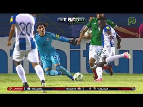HONDURAS VS MEXICO  3 - 2  Eliminatorias Rusia 2018 10 OCT 2017