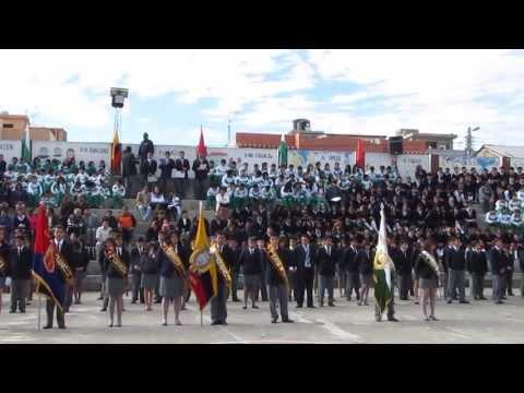 Juramento a la Bandera 3os. de Bachillerato.
