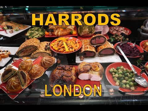 HARRODS LONDON || Food From Around The World || FOODPORN!