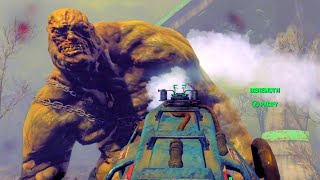 FALLOUT 4 Trying to Freeze the Behemoth w/ the Cryolator!