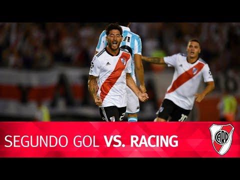 Segundo gol vs. Racing
