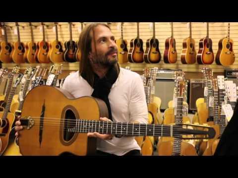 Mana's Sergio Vallin Memorabilia at Norman's Rare Guitars (видео)