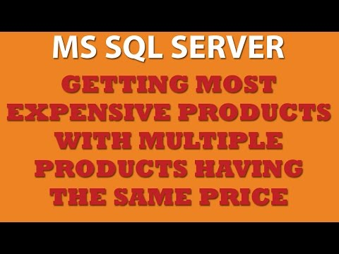 Querying MS SQL Server: OFFSET and FETCH NEXT Keywords(Trans-SQL)