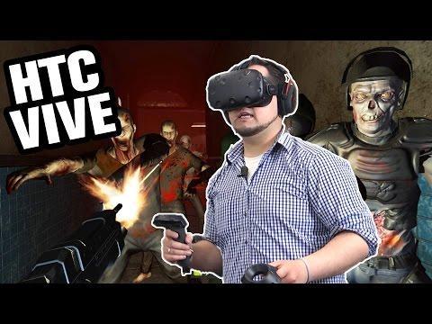 HTC Vive im Praxis-Test - Fritz zockt in VR | Virtual Reality | deutsch / german