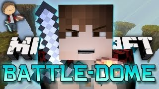 THE WORST LEAST EPIC PVP Minecraft: BATTLE-DOME Mini-Game w/Mitch&Friends!