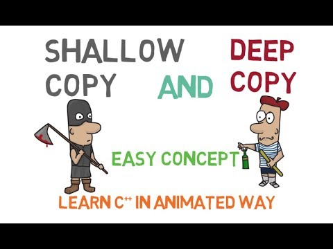 Shallow and Deep Copy in C++