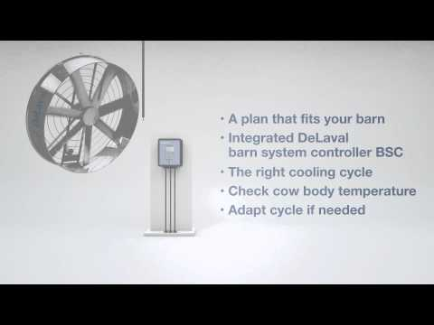 DeLaval Cow Cooling - Heat Stress Prevention
