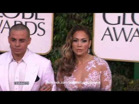 Jennifer Lopez – Golden Globes Red Carpet 2013 (HD)