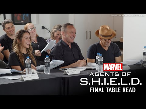 Marvel's Agents of S.H.I.E.L.D. | The Final Table Read!