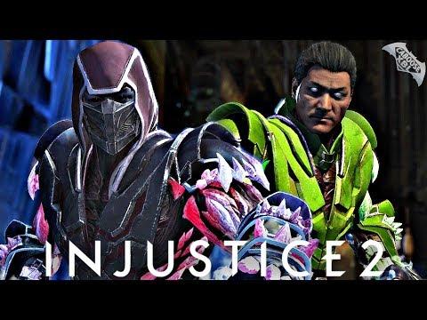 Injustice 2 Online - CRAZY SUB ZERO COMBOS!