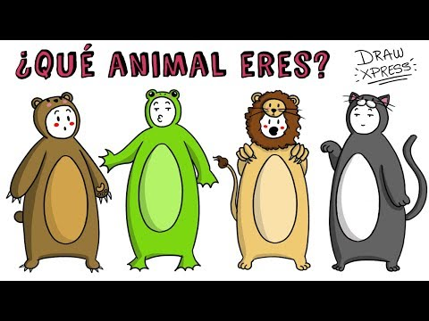 ¿QUÉ ANIMAL ERES? TEST  Draw My Life #tiktaktest