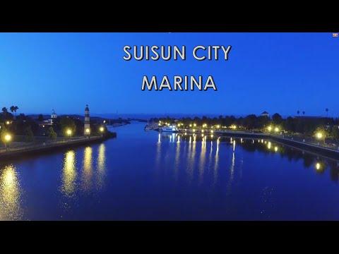 Suisun City Marina Aerial