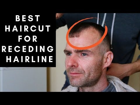 Mens hairstyles - BEST Haircut For Men With RECEDING HAIRLINES