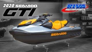 8. All New 2020 Sea-Doo GTI/GTR Walk-through Review
