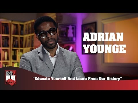 Adrian Younge - Educate Yourself And Learn From Our History (247HH Exclusive)
