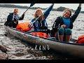 canoe trip  sweden 2017 | 3 muskies in een kano