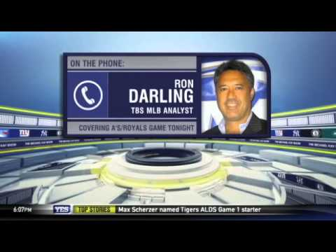Video: Ron Darling on Athletics vs. Royals - The Michael Kay Show