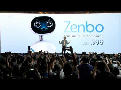 Zenbo robot video