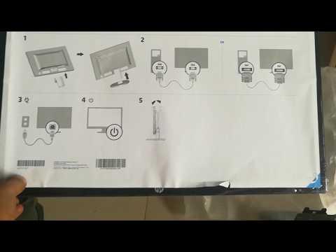HP SLIMLINE 270 SERIES DESKTOP UNBOX