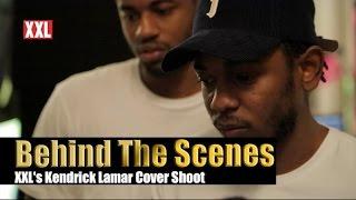 Behind The Scenes Of XXL's Kendrick Lamar Cover Shoot