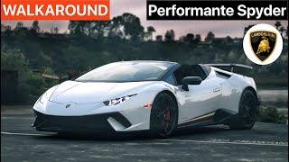Lamborghini Huracan Performante Spyder WALKAROUND by MilesPerHr