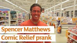 Spencer Matthews Tomato Stunt for Comic Relief