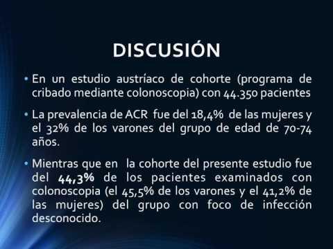 Asociación entre endocarditis infecciosa por enterococo y Neoplasia de colon. Dr. Alejandro Kim. Residencia de Cardiología. Hospital C. Argerich. Buenos Aires